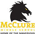 McClure Middle School logo